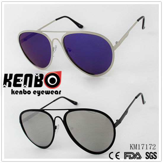 Fashion Metal Sunglasses with Specialtemplekm17172