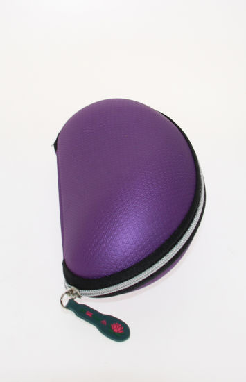Classcical PU Glasses Case with Zipper