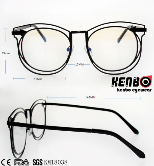 New Coming Trendy Design Frame Metal Sunglasses Km18038