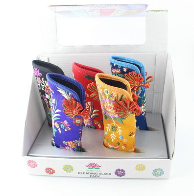 Glasses Case Display Color Box for Shelf Showing