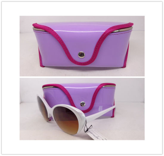 Shiny Leather Case for Sunglasses