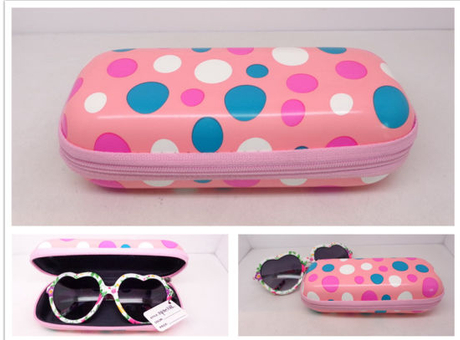 Cute DOT Leather Case for Sunglasses
