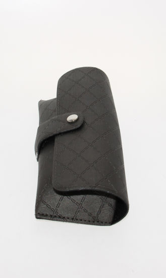 Fashion Glasses Case with Checkered Pattern